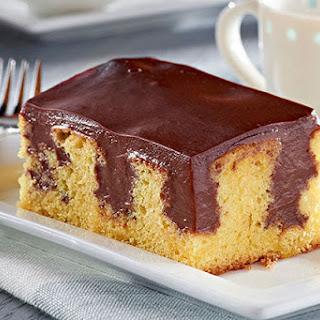 Pudding Poke Cake.