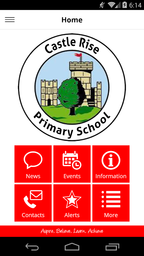 Castle Rise Primary School- screenshot
