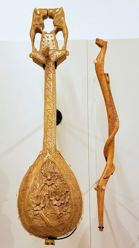 Music Instrument Museum (MIM) Geographic galleries, Gusle (bowed lute), Serbia