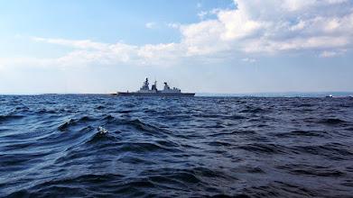 Photo: Nave Militare in uscita dal porto di Taranto