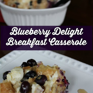 Blueberry Delight Breakfast Casserole