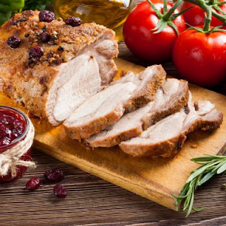 Spiced Cranberry Turkey Tenderloin