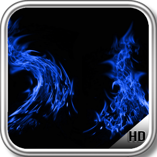 App Insights Blue Fire Wallpaper Apptopia