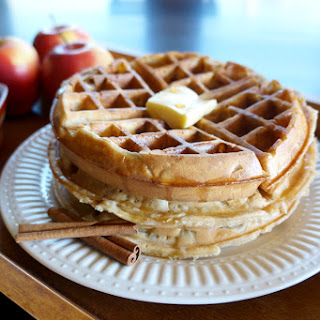 Apple Pie Waffles
