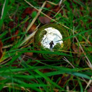 Selfie glob iarba.JPG