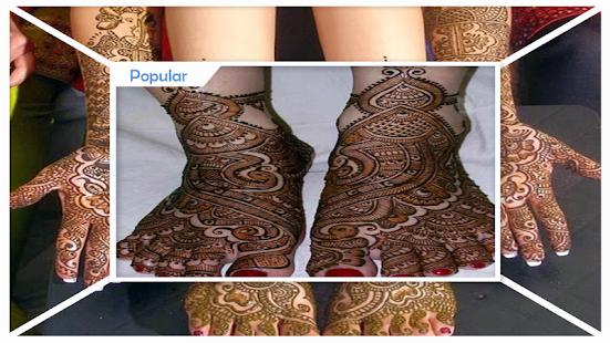 Awesome Bridal Mehndi Design - náhled