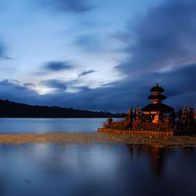 Morning in Bali by Yande Ardana - Landscapes Travel ( bali, bedugul, beratan, ulundanu, candi kuning )