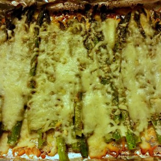 The Recipe Redux - Easy Cheesy Asparagus