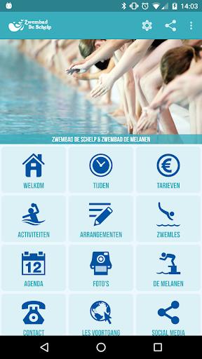 Zwembad de Schelp de Melanen