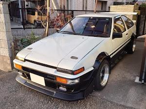 スプリンタートレノ AE86 昭和59年式GT-APEXのカスタム事例画像 おしーんさんの2021年01月03日17:04の投稿