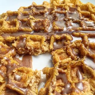 Paleo Cinnamon Toast Freezer Waffles