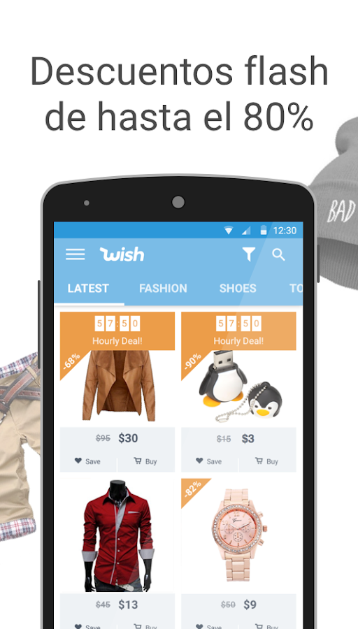 Wish - ¡Que sigan las ofertas!: captura de pantalla