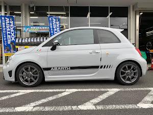 アバルト 595  H29 ベースグレードのタイヤのカスタム事例画像 ひろ吉さんの2019年01月06日21:33の投稿