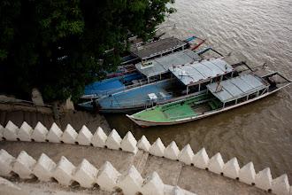 Photo: Year 2 Day 57 - Tourist Boats Waiting to Go at Bu Paya