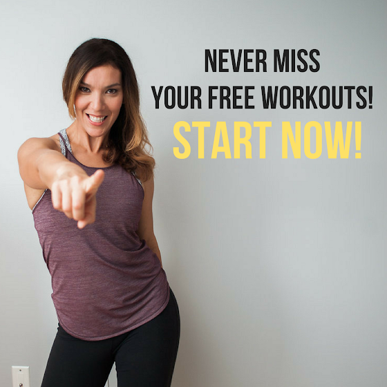 Start your FREE Workouts Now