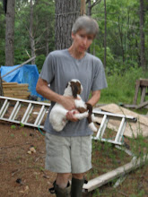 """Photo: kelly carrying """"Maniac"""" (sorry about the blur, it was getting dark)"""