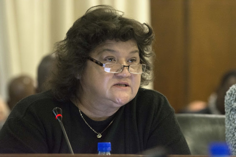 Lynne Brown. Picture: TREVOR SAMSON