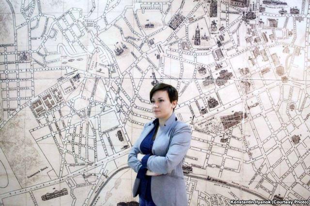 Екатерина Макаревич в Киеве. Фото: Константин Ильянок