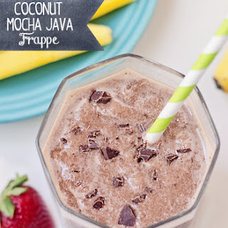 Coconut Mocha Java Frappe