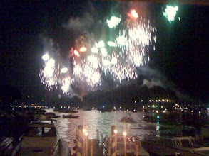 Photo: Lake Como Summer Firework Festival