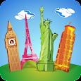 Geography Quiz - City Puzzle icon
