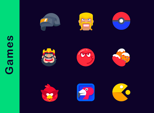 Screenshot for Ration - Icon Pack in United States Play Store