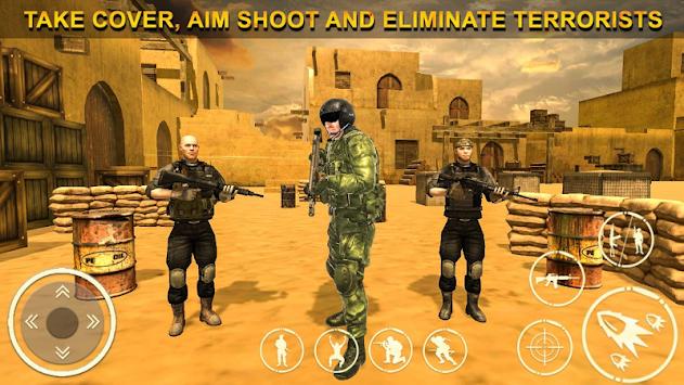 Anti-Terrorism Strike Force: Frontline Army Squad apk screenshot