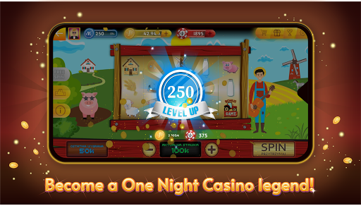 One Night Casino - Slots, Roulette screenshots 1