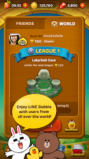 LINE Bubble!- screenshot thumbnail