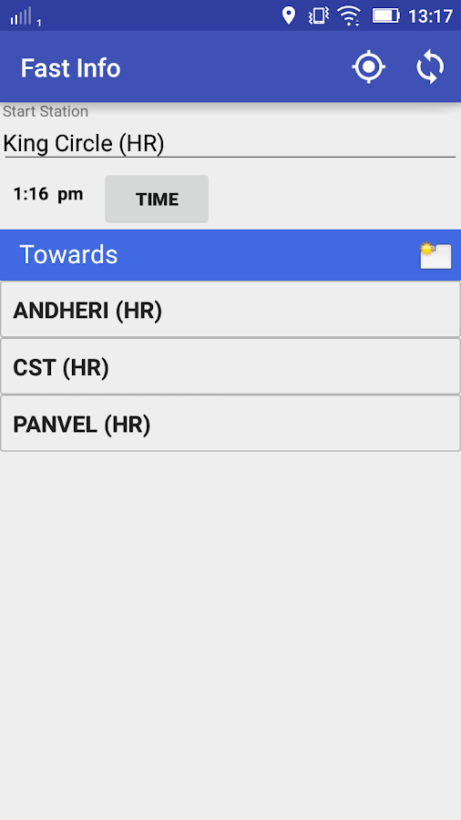 Mumbai Local Train SmartShehar- screenshot