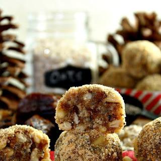 Coconut Pine Nuts Energy Bites - Peanut Free, Sugar Free, No Bake and Vegan