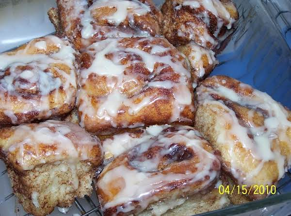 ''bonnie's Easy Big-batch Cinnamon Rolls'' Recipe