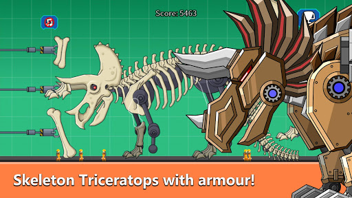 Triceratops Dinosaur Fossil Robot Age modavailable screenshots 2
