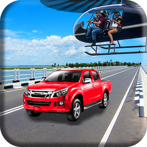 Helicopter  Traffic Sniper Strike Game 3D 2K18