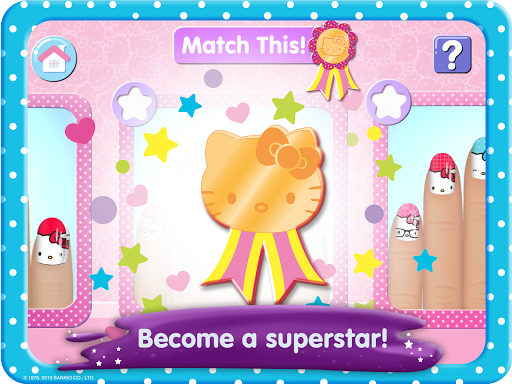 Hello Kitty Nail Salon screenshot 10