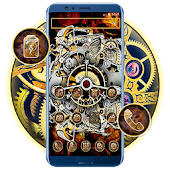 Mechanical Gears Theme Android APK Download Free By Fancy Theme Palace