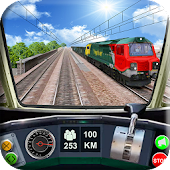 Train Simulator Crazy Driver - Pro Train Driving