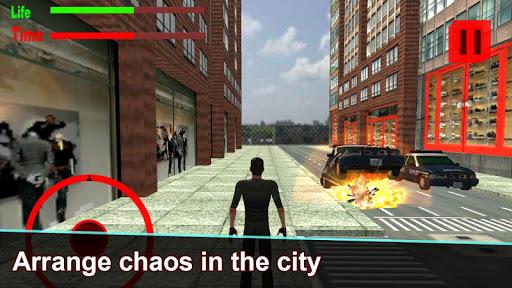 Gangsta Driver vs Police Chase