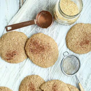 Low Carb Flaxseed Cinnamon Breakfast Cookies.