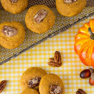 Soft Pumpkin Pecan Cookies