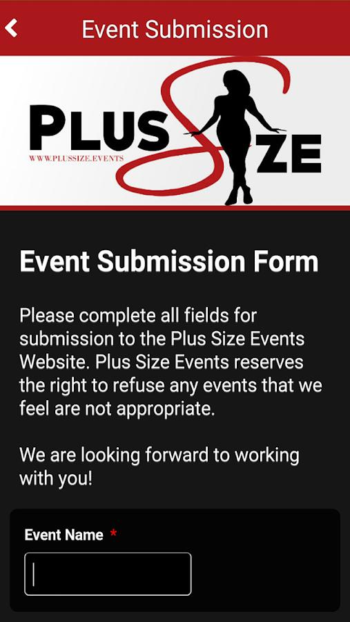 Plus Size Events