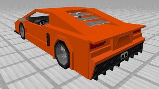 sport cars addon for minecraft screenshot thumbnail