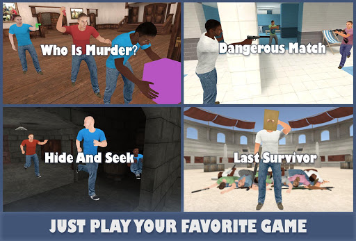 GM Portable : Murder, Hide & Seek, DeathRun Online modavailable screenshots 2