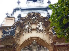 Photo: Grupa budynków historycznych, Vajdahunyad-vár w Parku Miejskim w Budapeszcie, kopia pałacu Marii Teresy (14 poświata)
