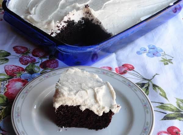 Blue Ribbon Chocolate Cake