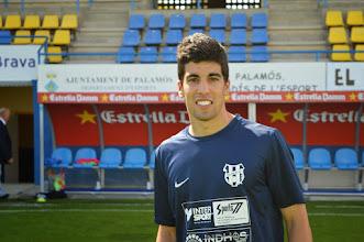 Photo: AMOS GASCA, en el palamos cf-ue Figueres