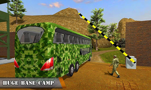 Army Bus Driving 2019 - Military Coach Transporter 1.0.8 screenshots 6