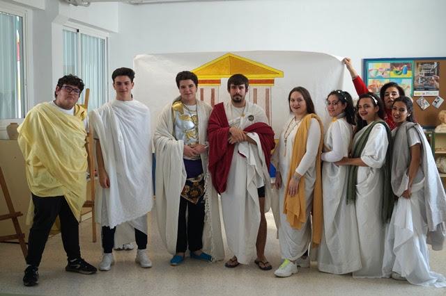 Actividad internivelar sobre la civilización romana.