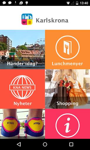 Karlskrona stadsapp