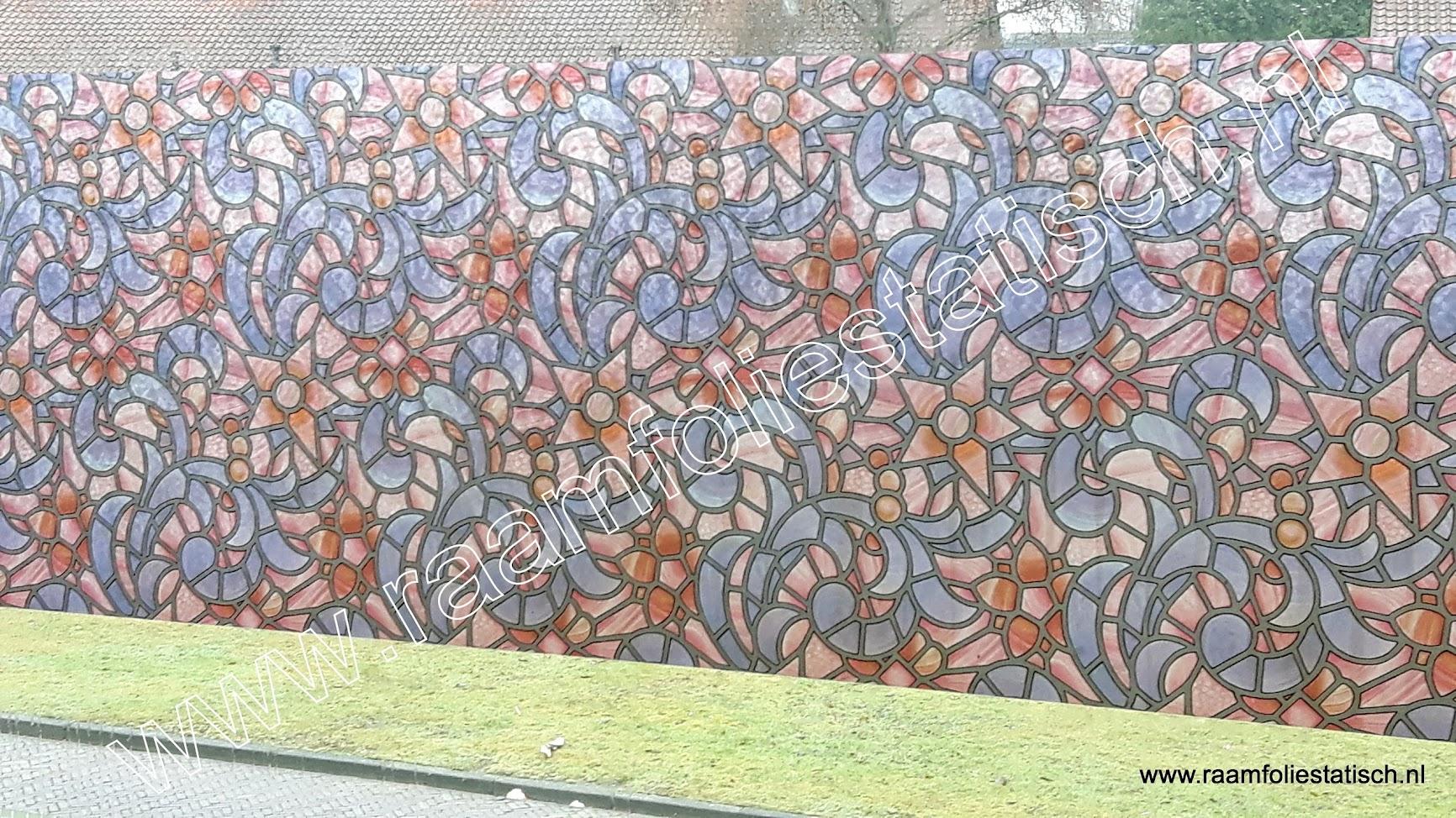 Raamfolie plakfolie voor ramen kleuren